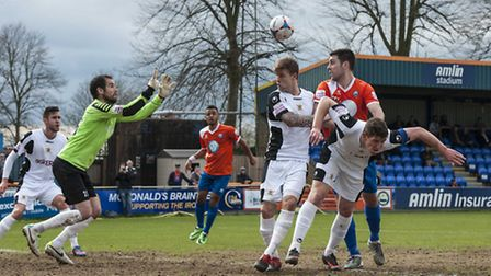 Action from Braintree Town v Salisbury this season
