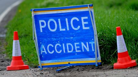 A bus and car crashed in Great Yeldham today