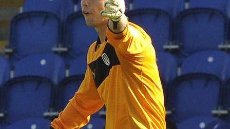 Mark Cousins. one of Colchester United's out-of-contract players who is mulling over a new deal