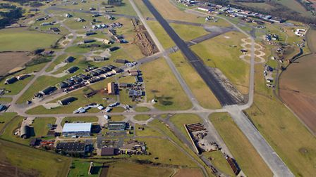 Mike Page Aerial Photo Library: Bentwaters.