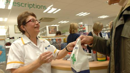 Pharmacists, 111, and your local surgery are all available to deal with medical issues