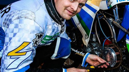 Morten Risager, another in good meeting at Rye House