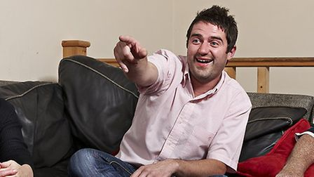 George Gilbey on Gogglebox. Picture courtesy of Channel 4