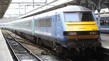 Delays on Greater Anglia services running through Colchester