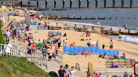 Southwold beach. All Suffolk and Essex beaches are facing tougher water quality regulations