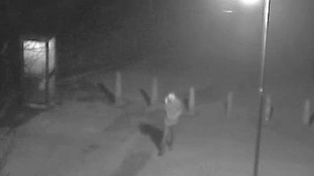 The man seen on CCTV who police want to speak to