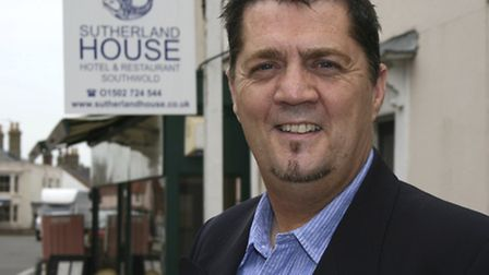 Andy Rudd who is the new proprietor of Sutherland House in Southwold