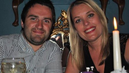 George Gilbey from Gogglebox on a charity date with Hayley Lloyd. Pictured in Hold the Anchovies in