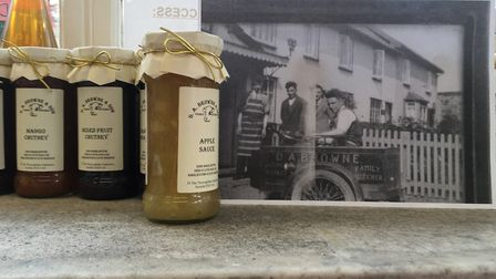 Danny Browne's grandfather (pictured) opened the butchers in Diss in 1935. Picture: Lucy Begbie