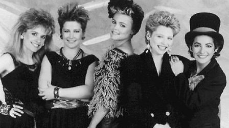 Belinda Carlisle and the rest of The Go-Go's