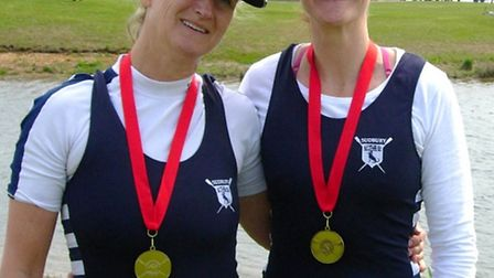 The regatta season has started well for Sudbury women's Masters double of Pippa Kerry and Bryony Dix