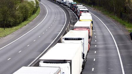 The collision took place on the M11 took between junction seven for Harlow and junction eight for Bi