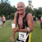 Gordon Merfield is taking part in this month's Great East Swim
