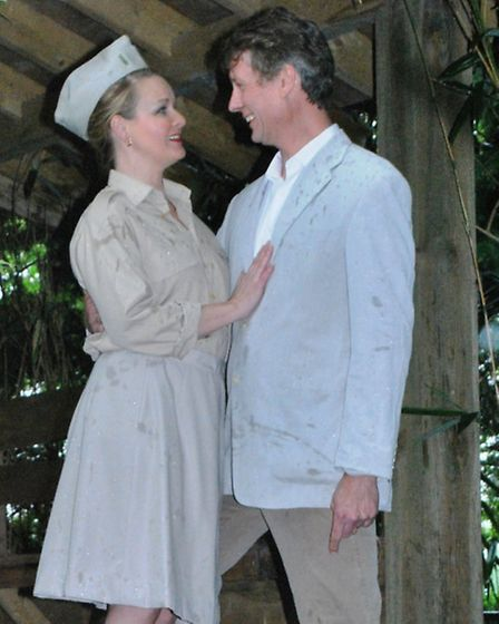 Company of Four stage South Pacific. Nellie and Emile