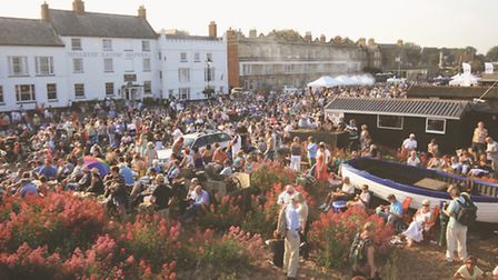 This year's Soul by the Sea, outside The White Lion Hotel, Aldeburgh, is likely to be as popular as
