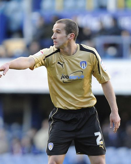 David Wright, poised to sign a new deal at Colchester