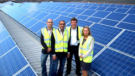 Debach Enterprises announce the commissioning of a 500 kWp solar photovoltaic roof top installati