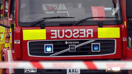 Fire crews from Newmarket attended the incident