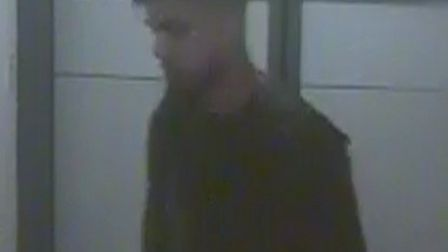 CCTV of men police want to speak to in relation to a burglary at student accommodation at the Univer