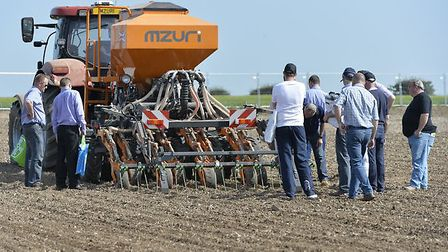 A scene from Cereals 2014 at Duxford