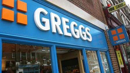 Greggs today reported strong first-half sales.