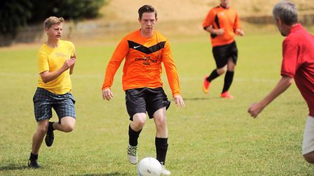 Sudbury Charity football match at Delphi for EACH, followed by a fun day to mark Delphi's 50th anniv