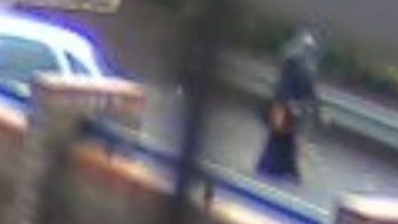 Photo taken from CCTV footage issued by Essex Police of Nahid Almanea, 31.
