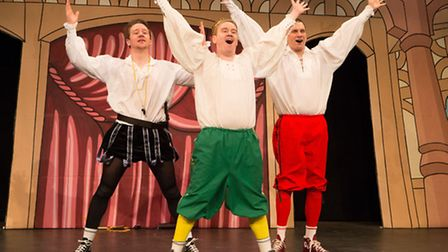 The Reduced Shakespeare Company. Photo by Karl Andre Smit