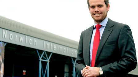 Andrew Bell, chief executive at Norwich International Airport.