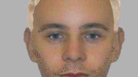 E-fit of the sexual assault suspect