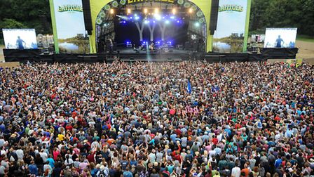 This year's Latitude Festival will feature Damon Albarn as one of the headliners