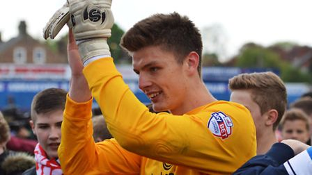 Nick Pope, pictured during his loan spell at York City