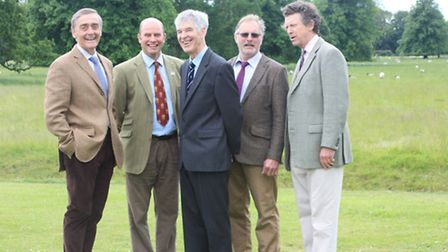 A line-up of all the FWAG Silver Lapwing finalists at the ceremony: Pictured from left: Duke of We
