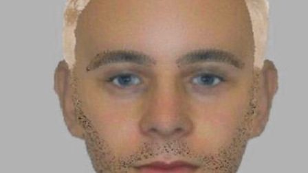 An e-fit of the man police want to speak to in relation to an attempted sexual assaultin East Bergho