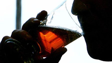 One in seven people in Suffolk drinks at either 'increasing' or 'higher' risk levels