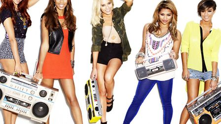 The Saturdays, playing Ipswich's Chantry Park this Saturday