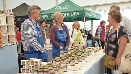 Crowds flocked to the Aldeburgh Food and Drink Festival in Snape Maltings.