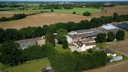 Park Farm, Stanton, which is up for sale through Savills with a price tag of £6million