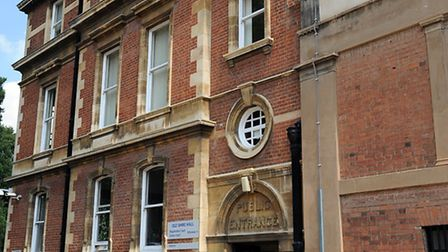 West Suffolk Magistrates' Court in Bury St Edmunds. One of the town's historic buildings.