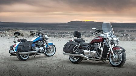 The new Triumph Thunderbird Light Touring will be one of the stars at Suffolk Triumph's cruiser op