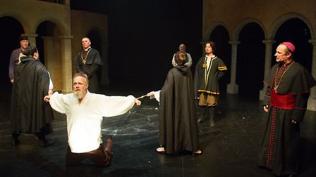 Galileo, a new musical by Martin Waddington, being given its world premiere at the New Wolsey Theatr