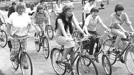 From The Archives East Gateway Club ride in Saxmundham July 1982