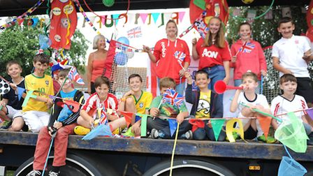 Trimley Carnival 8th Felixstowe Scouts