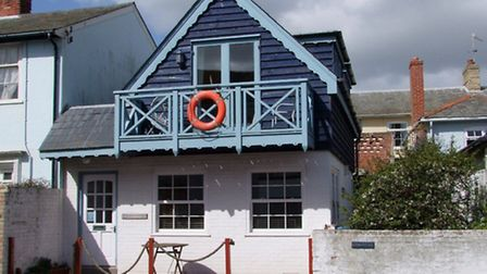 Sea Horse Cottage, which is on the market for £475,000