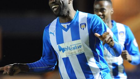 Jabo Ibehre, fighting fit again after a groin injury