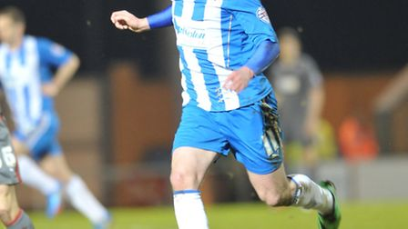 Freddie Sears, scored from the penalty spot at AFC Sudbury tonight