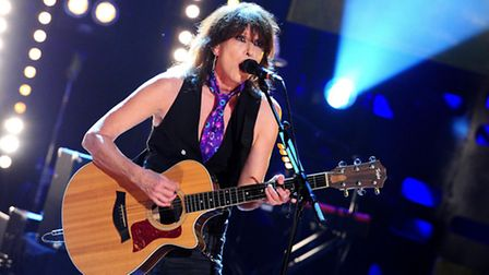 Chrissie Hynde during filming of the Graham Norton Show at the London Studios.