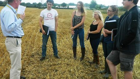 Farmer's apprentice boot camp taking place at Easton and Otley College