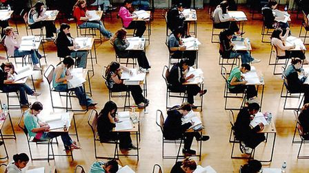 The first GCSE results are being published
