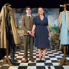 Francis Woolf & Rebecca Dickson Black in Eastern Angles production Once Upon A Lifetime, part of Ip-